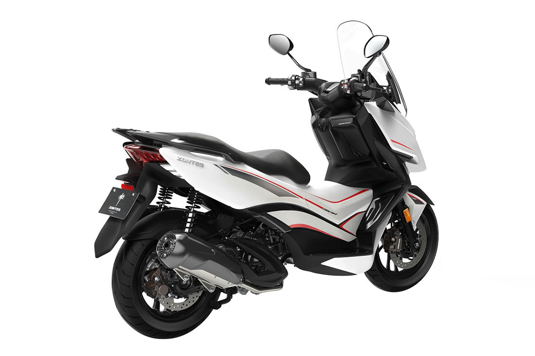Zontes 310M Scooter White