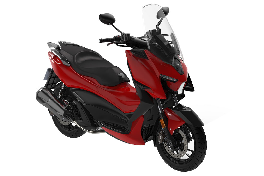 Zontes 310M Scooter Black